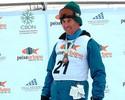 Andre Cintra leva a bandeira do Brasil na abertura dos Jogos Paralímpicos