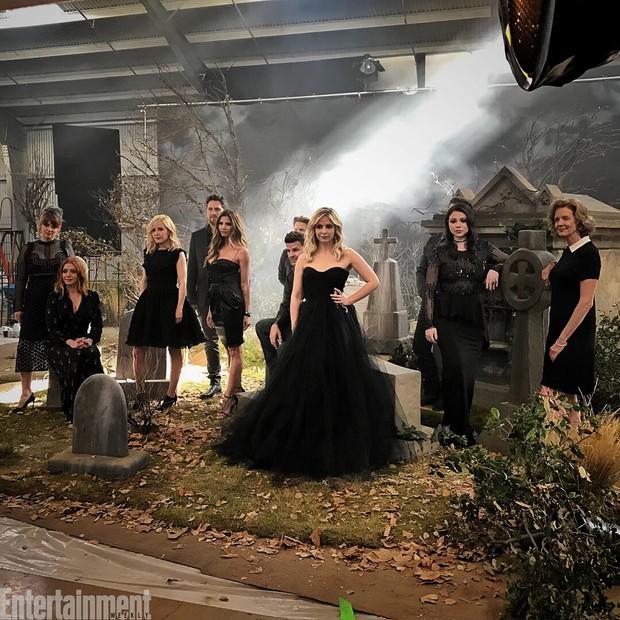 Elenco de Buffy: A Caça Vampiros (Foto: Reprodução/Entertainment Weekly)