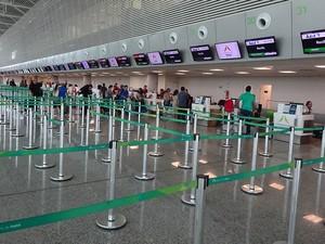Estrutura do aeroporto agrada usuários (Foto: Fernanda Zauli/G1)