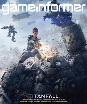 Capa da revista 'GameInformer' revela game 'Titanfall' (Foto: Divulgação/GameInformer)