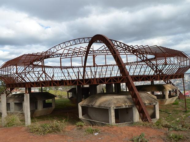 Já foram investidos R$ 400 mil na estrutura do Memorial do ET, fiz Prefeitura de Varginha (Foto: Samantha Silva / G1)