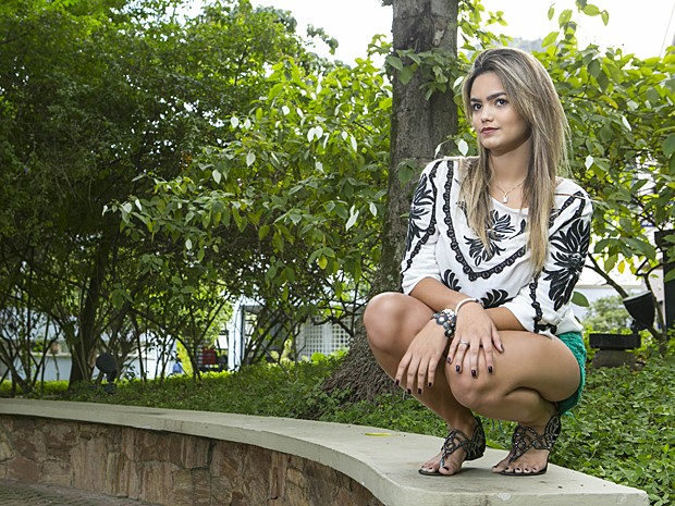Suzanna Freitas conta que sempre foi apaixonada por moda (Foto: Inácio Moraes / Gshow)