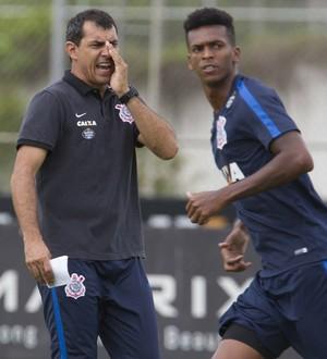 Fábio Carille Jô Corinthians (Foto: Daniel Augusto Jr. / Agência Corinthians)