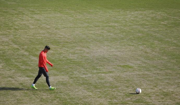 Marcos Rojo gramado Rostov (Foto: Reuters)