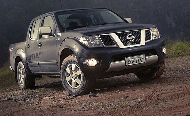 Nissan Frontier Platinum (Foto: Fabio Aro/Autoesporte)