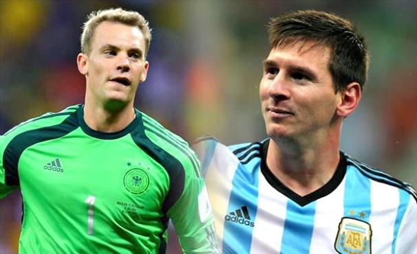 Alemanha X Argentina (Foto: Getty Images)