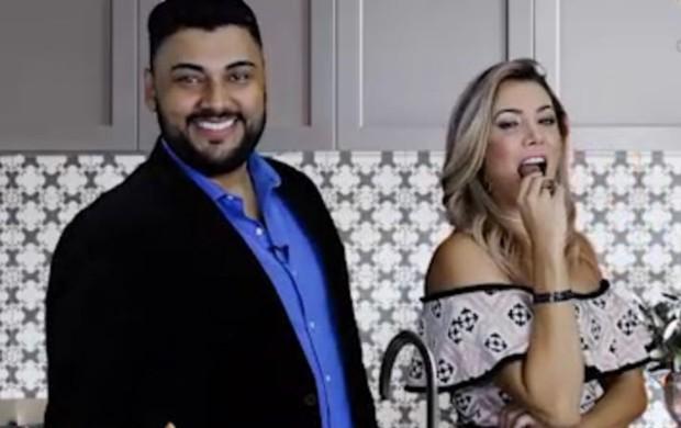 Os apresentadores Anderson Nogueira e Fabiana Teixeira (Foto: Divulgação)