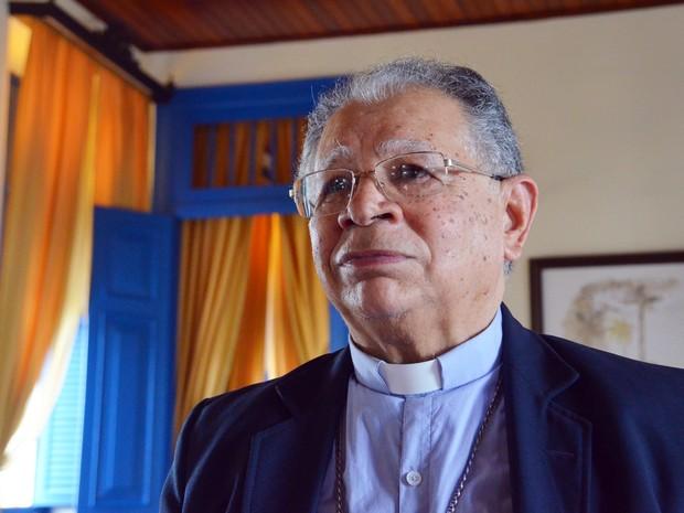 Dom Genival Saraiva, administrador apostólico da Arquidiocese da Paraíba (Foto: Diogo Almeida/G1)