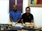 Presos no MA dois suspeitos de tráfico internacional de drogas