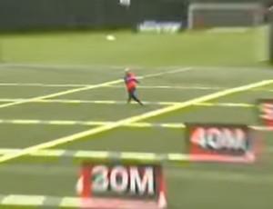 BLOG: Messi e Luiz Suárez trocam passes a até 56m de distância sem deixar bola cair