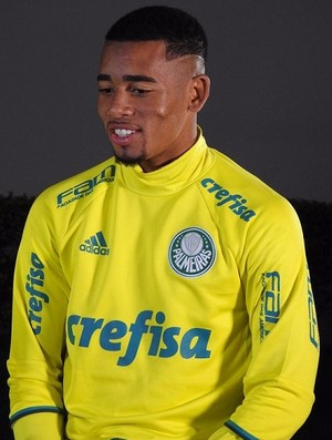 Gabriel Jesus Palmeiras entrevista (Foto: Felipe Zito)
