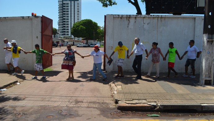SOS Glicério; Amapá; Futebol (Foto: Rafael Moreira/GE-AP)