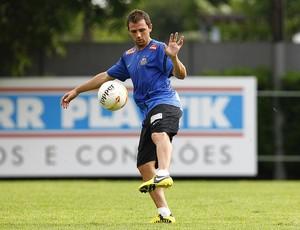 Montillo Santos (Foto: Ricardo Saibun/Divulgação Santos FC)