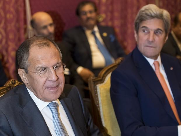 Kerry e Lavrov se reúnem na Suíça para discutir Síria
