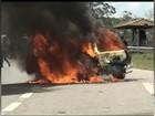 Acusado de queimar viatura em ato por beagles pega seis anos de prisão