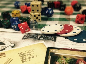 Divinópolis Mesa de RPG Role-playing Game (Foto: Marielle Zum Bach/Arquivo Pessoal)