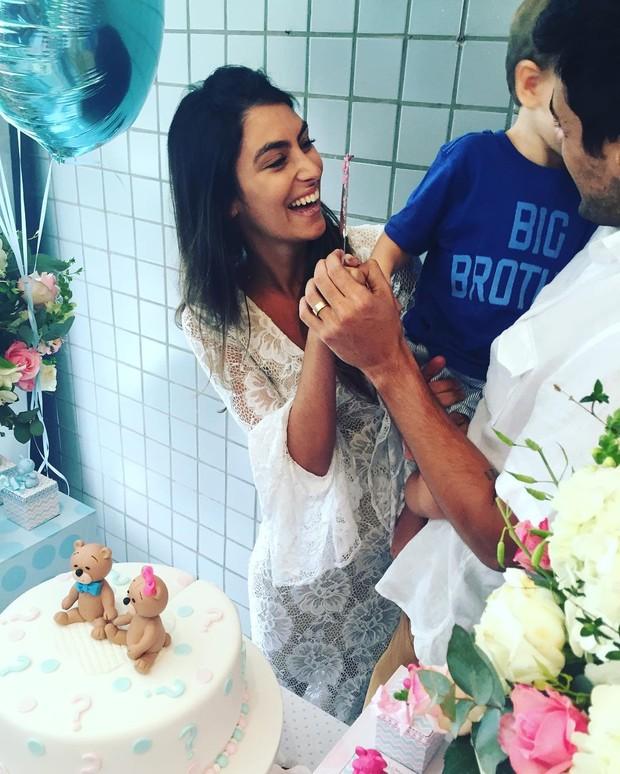 Felipe Simas anuncia que a mulher   está grávida do 2º filho: 'É menina' (Foto: Reprodução do Instagram)