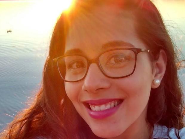 Mônica Machado estudante santa maria rio grande do sul (Foto: Reprodução/Facebook)