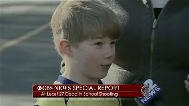 Menino contou como foi salvo por professora em massacre em escola nos EUA (Foto: Reprodução)