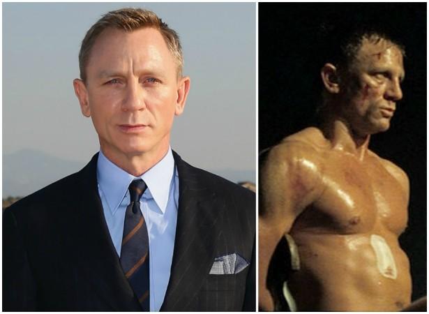 Como tem dispensado dublês nos filmes, Daniel Craig fez um seguro de 9,5 milhões de dólares para seu corpo inteiro. (Foto: Getty Images e Reprodução)