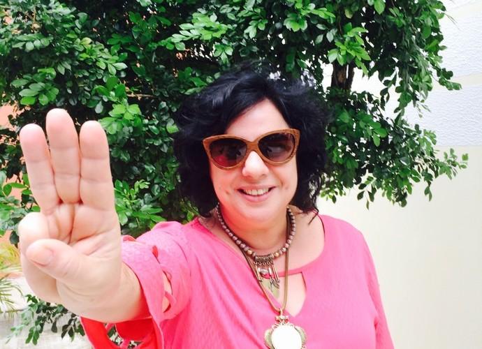 Mariza gosta da interação com o público (Foto: Arquivo Pessoal)