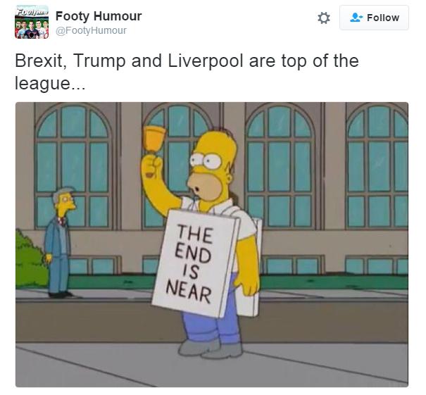 Meme sobre a vitória de Trump nos EUA (Foto: Reprodução/Twitter)