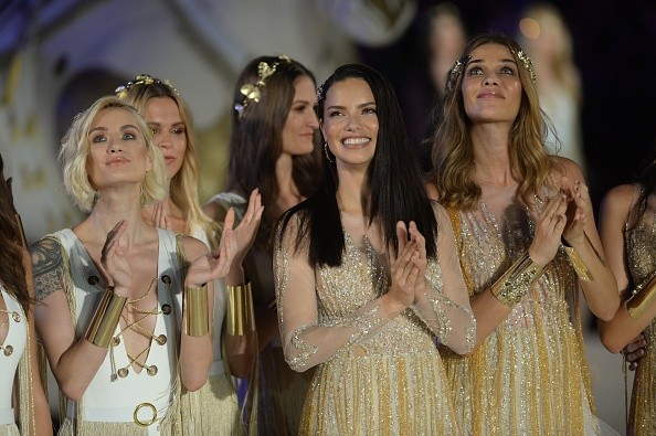 Adriana Lima, Isabeli Fontana, Izabel Goulart e Ana Beatriz Barros  (Foto: Getty Images)