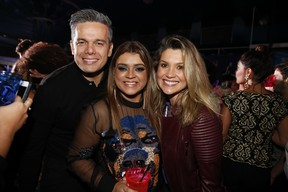 Otaviano Costa, Preta Gil e Flávia Alesasndra em festa no Rio (Foto: Felipe Panfili/ Ag. News)