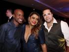 Preta Gil, Thiaguinho, Anitta e mais famosos curtem festa no Rio