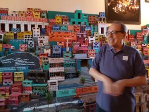 Paulo Herkenhoff curador do Museu de Arte do Rio (Foto: Cristina Indio do Brasil/ G1)
