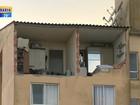 Morador segue internado no RS após explosão de gás em apartamento