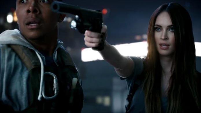 Megan Fox é uma das estrelas a participar dos comerciais do game (Foto: Divulgação)