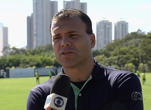 Harlei - gestor de futebol Goiás (Foto: Reprodução / TV Anhanguera)