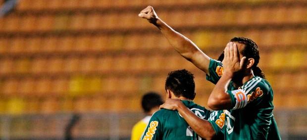 Barcos gol Palmeiras (Foto: Leo Pinheiro / Ag. Estado)