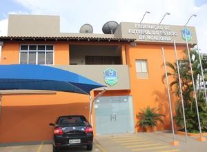 Federação de Futebol do Estado de Rondônia - FFER (Foto: Larissa Vieira/GLOBOESPORTE.COM)