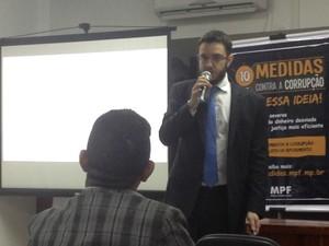 Procurador da República Ricardo Augusto Negrini (Foto: Jéssica Alves/G1)