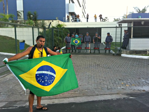 Segundo a polícia, não houve registro de violência (Foto: Tiago Melo/G1 AM)