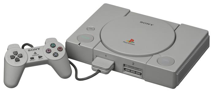O primeiro PlayStation popularizou o uso de CDs como mídia (Foto: Reprodução/Wikipedia)
