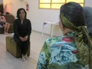 Participantes também contaram a sua história de luta contra a doença (Foto: Mariane Rossi/G1)