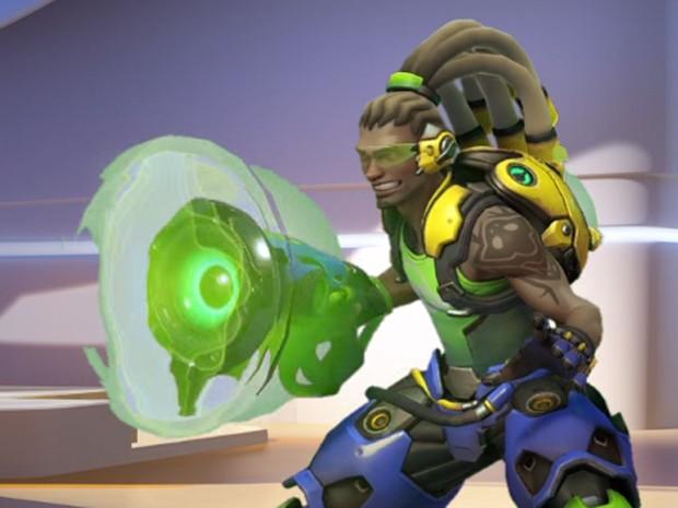 Lúcio é personagem brasileiro do game de tiro 'Overwatch' (Foto: Reprodução/Blizzard)
