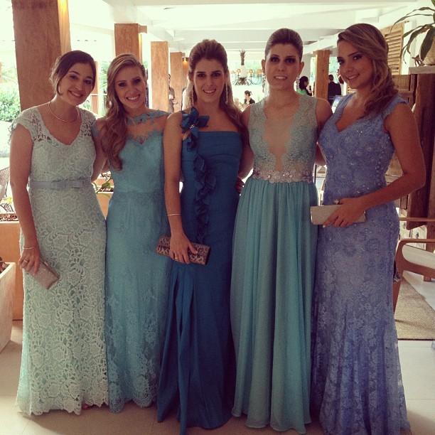 Carol Dantas, madrinhas de casamento do Ganso (Foto: Reprodução  / Instagram)