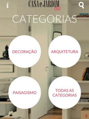 Aplicativo Casa e Jardim (Foto:  )