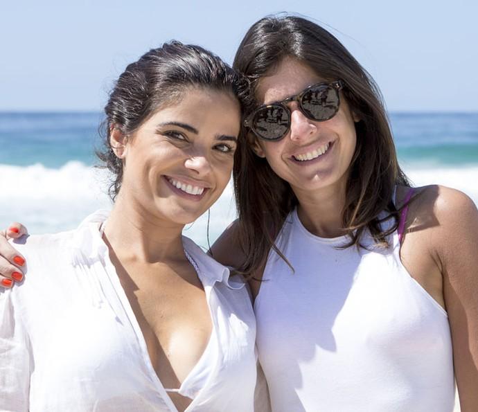 Vanessa Giácomo posa ao lado da diretora Joana Jabace (Foto: Felipe Monteiro/Gshow)