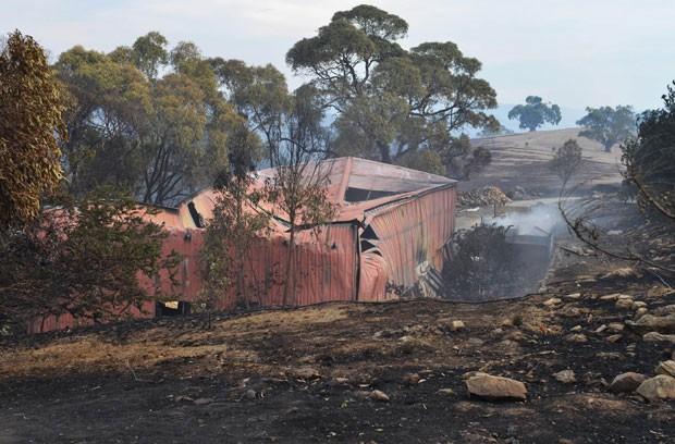 Graves incêndios na Austrália forçam evacuação de milhares de pessoas (Foto: Brenton Edwards / AFP)