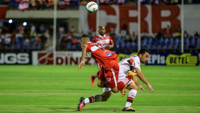 CRB x Atlético-GO, no Rei Pelé (Foto: Ailton Cruz / Gazeta de Alagoas)