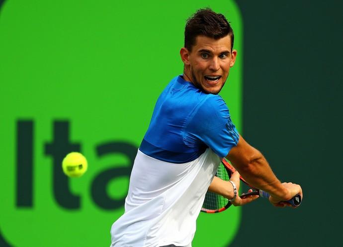 Novak Djokovic x Dominic Thiem Masters 1000 de Miami (Foto: Getty Images)