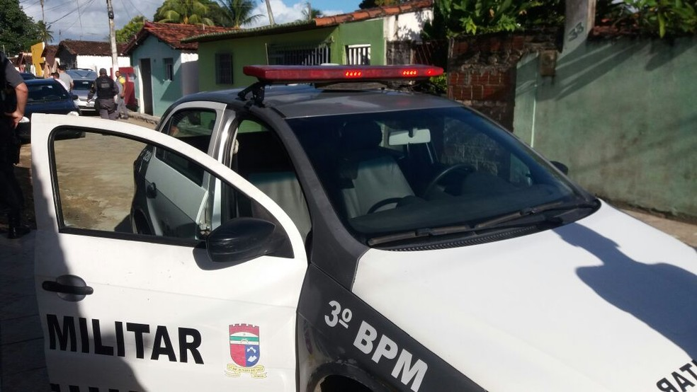 3º Batalhão da PM ouviu testemunhas no local (Foto: Divulgação/PM)