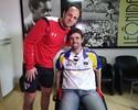 Afeto de ídolo: apoio de Rogério Ceni motiva ex-goleiro do São Paulo no Rio