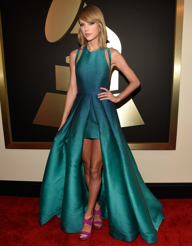 Taylor Swift no Grammy (Foto: Getty Images)