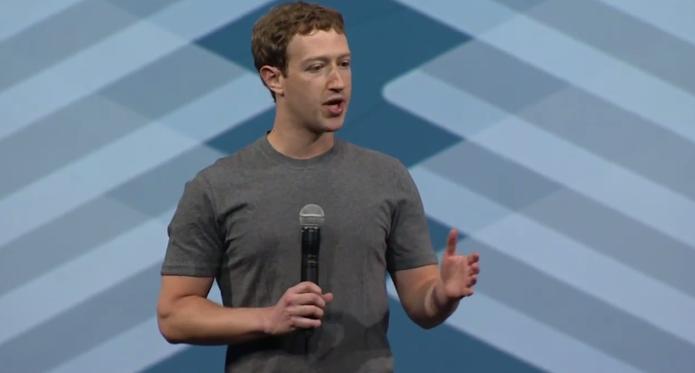 Mark Zuckerberg, fundador do Facebook, abre a f8 e fala sobre login na rede social (Foto: Reprodução/Facebook)